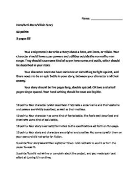 Hero Stories Project
