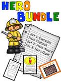 Hero Study Bundle: Flip Book, Award, and Quilt