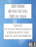 Hero Theme Mystery Pictures Part of Speech