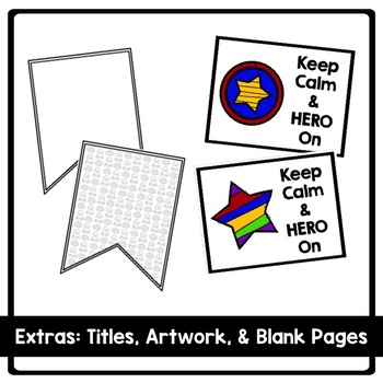 Hero Themed End of Year Reflection