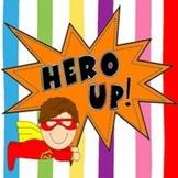 Hero Up! Behavior Clip Chart