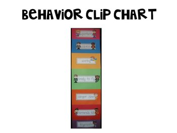 Hero Up! Behavior Clip Chart