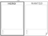 Hero/Wanted Poster