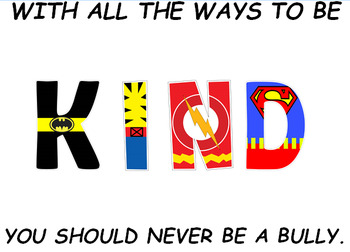 Hero Week/Anti-Bullying Bulletin Board