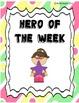 Hero of the Week Packet