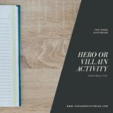 Hero or Villain Cold War Activity