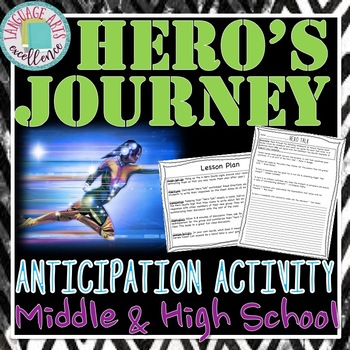 Hero's Journey Anticipation Lesson Plan