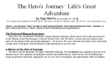 Hero's Journey Close Read