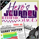 Hero's Journey Identifying Stages
