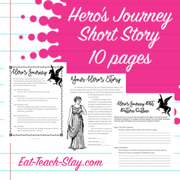 Hero's Journey Short Story Archetype Creative Writing Project