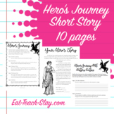 Hero's Journey Short Story Archetype Creative Writing Project