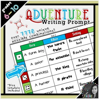 Adventure Roll-A Writing Prompt