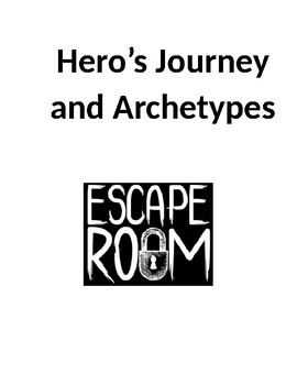 Hero's Journey and Archetypes Escape Room Review