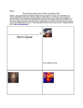 Hero's Quest:  A Story Board Template