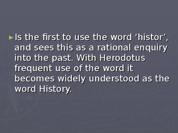 Herodotus Historian