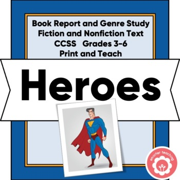 Heroes: Book Study And Report