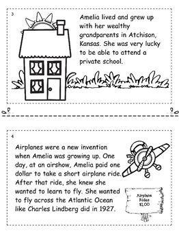Heroes Booklet Series: Amelia Earhart