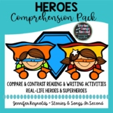 Superhero Character Trait Pack-- Reading Comprehension & W