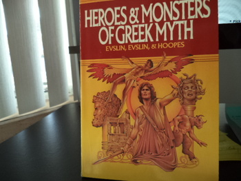 Heroes & Monsters of Greek Myth ISBN#0-590-43440-3