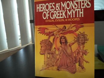 Heroes & Monsters of Greek Myth ISBN#0-590-43440-3