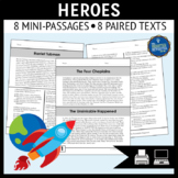 Heroes Reading Passages