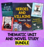 Heroes and Villains Unit BUNDLE