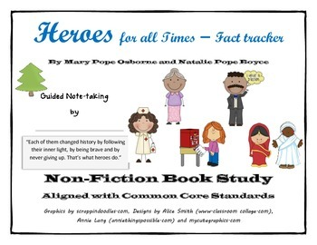 Heroes for All Times - MTH Fact Tracker book study