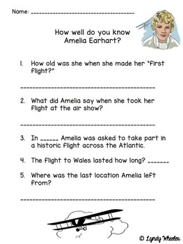 Heroes in History - Amelia Earhart