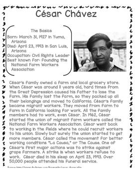 Heroes in History - César Chávez