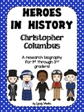 Heroes in History - Christopher Columbus