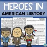 US History Reading Comprehension: Cesar Chavez, Benjamin Franklin, Squanto