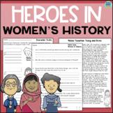 Heroes in Women's History: Malala Yousafzai, Susan B Antho