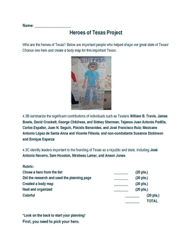 Heroes of Texas Research Project