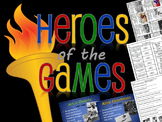 Olympic Heroes BUNDLE - Olympics Activities