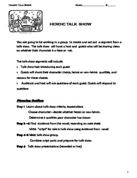 Heroic Talk Show Project