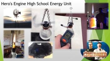 Hero's Engine Energy Unit