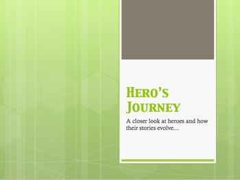 Hero's Journey Slideshow: Introduction