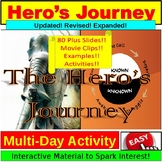 Hero's Journey JUMBO Lesson PowerPoint!