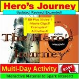 Hero's Journey JUMBO Lesson PowerPoint!