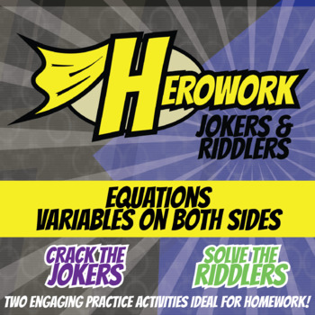 Herowork - Equations Variables on Both Sides - Taj Mahal Mystery & Sandals Joke