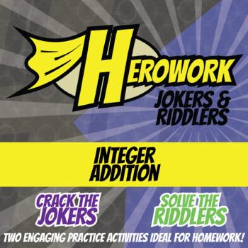 Herowork - Integers Adding - Amelia Earhart Mystery Pic & Landslide Joke