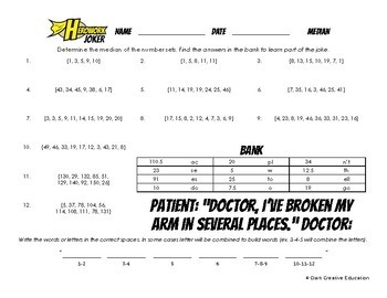 Herowork - Median - Lincoln Mystery Pic and Doctor Joke