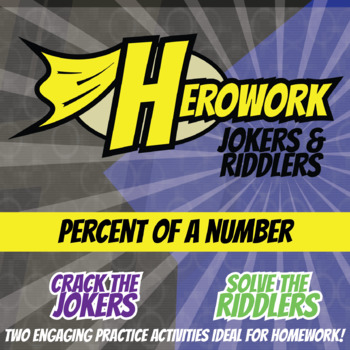 Herowork - Percent of a Number - Frederick Douglass Mystery Pic and Mummy Joke