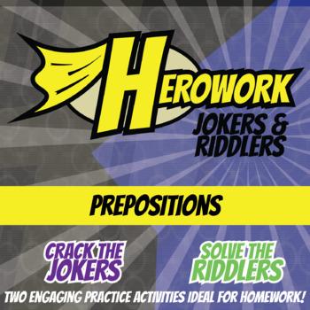 Herowork - Prepositions - Malala Yousafzai Mystery Pic and Cheese Joke