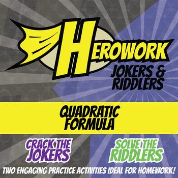 Herowork - Quadratic Formula - Stan Lee Mystery Pic and Einstein Joke