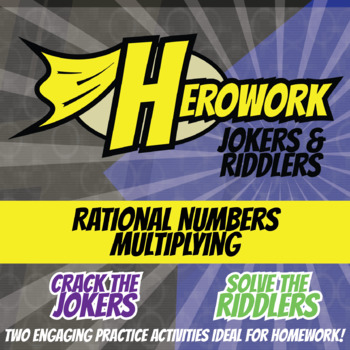 Herowork - Rational Numbers Multiplying - Knights Mystery Pic and Sunday Joke