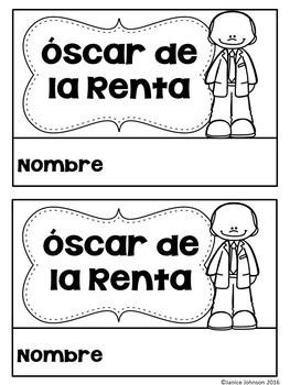 Herrera & De la Renta Readers {Hispanic Heritage Month} Bilingual bundle
