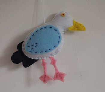 Herring gull pattern and instructions