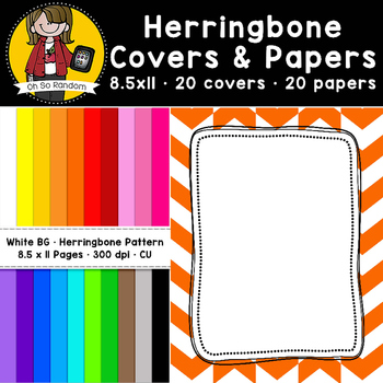 Herringbone Covers & Papers (CU)