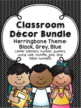 Herringbone Theme Decor Pack
